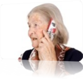 Vign_1480946-the-grandmother-speaks-by-phone-on-an-isolated-background_all